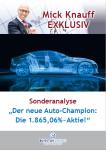Mick Knauff Exklusiv - Sonderanalyse