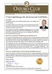 3 TOP-Empfehlungen für die kommende Goldrallye