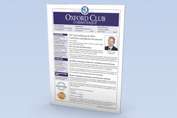 Oxford Club Communiqué